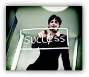Signpost to success